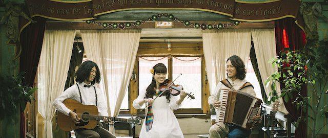 3人組バンドのtricolor(トリコロール)プロフィール写真