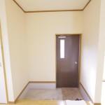 アウトドアグッズもたくさん収納できそうな玄関