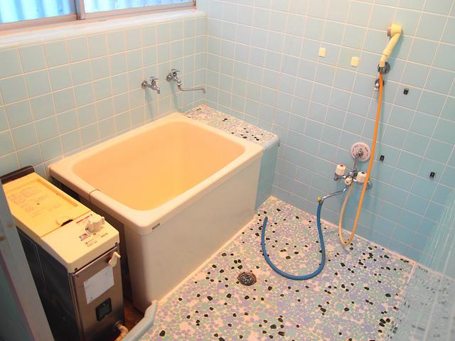お風呂もキレイです。