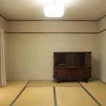 南西側の和室(内装)