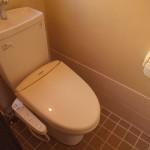 トイレはキレイです。