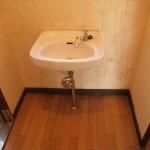 手洗いスペース。