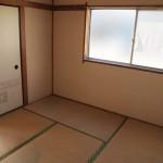 4.5帖の和室。