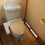 トイレ。洋式です。