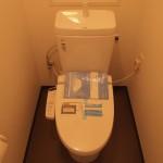 トイレも新しくなっています。