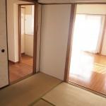 和室とLDKは仕切りをはずせばひとくくりになります。