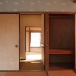もうひとつ和室。