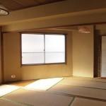 和室!三角です。