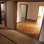 1階は3部屋+LDK