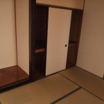 和室の畳はオーナーさんこだわりの熊本産です。