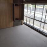 spaceH。元々和室でグレーのカーペットが敷いてあります。