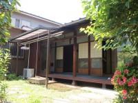 縁側とお庭のある古民家