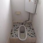 トイレは和式