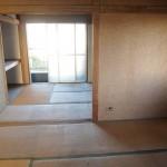 和室は縦に2部屋。
