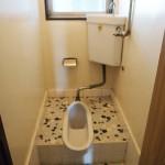 トイレは和式です。