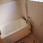 お風呂はほぼ新品です!