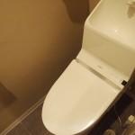 トイレもリノベーション済