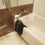 浴室も広々していていい感じ。