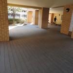 ヴェルデゾーナ新八柱 敷地内のホール。