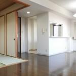 14畳のLDと6畳の和室(居間)