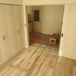 5.7畳の洋室(内装)