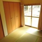 6畳の和室(居間)