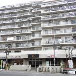 ロイヤルシティ松戸八柱の1階(外観)