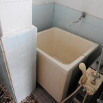 バランス釜のお風呂。