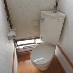 トイレは洋式にリノベーション済み