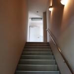 2階から3階への階段