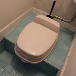 トイレはタイルを新しく!