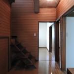 レトロな廊下や階段