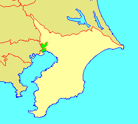 地図-千葉県市川市-2006