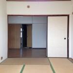 扉を外せば広いLDKとしても使用可能。