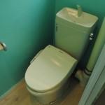 トイレ回りもきれい。(内装)