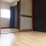 4.5畳の2つの洋室