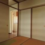 和室は襖で仕切れます。(内装)