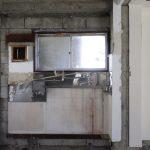 こちらはキッチン跡(写真は3階)