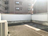 ルーフバルコニーで寛ぐ生活【事務所・店舗・楽器可】