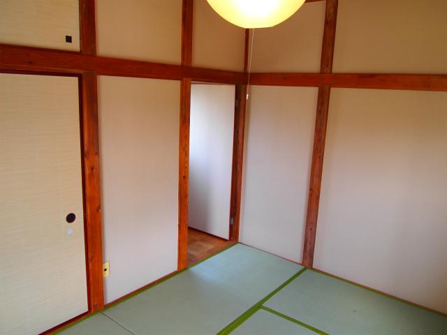 2階の畳は新品。何を隠そうオーナーさん自身が畳屋さんなのです!