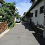 家の前の市道