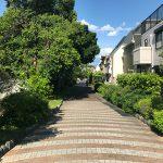 物件から徒歩1分ほどの場所を通る烏山川緑道